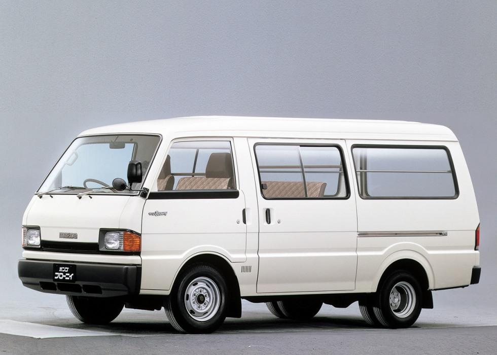 Mazda Bongo Brawny Van (Мазда Бонго Брауни Ван) 1999-2010 ...