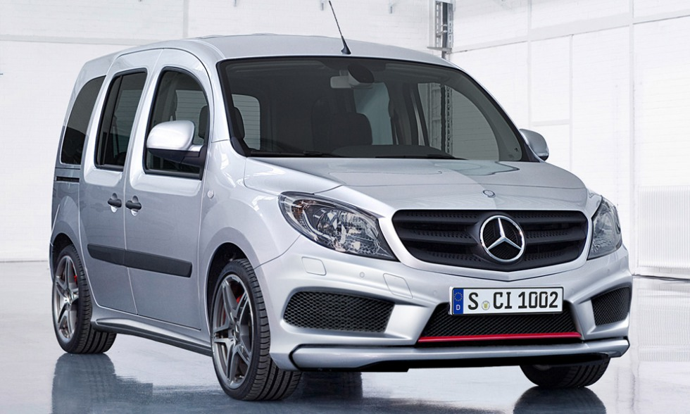 Mercedes-Benz Citan 2013 (Мерcедес-Бенц Цитан)